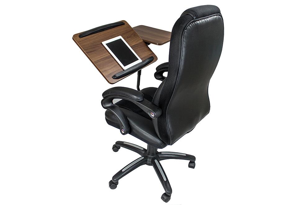 Fotel Biurowy Z Wbudowanym Stolikiem Pod Laptopa Fotel